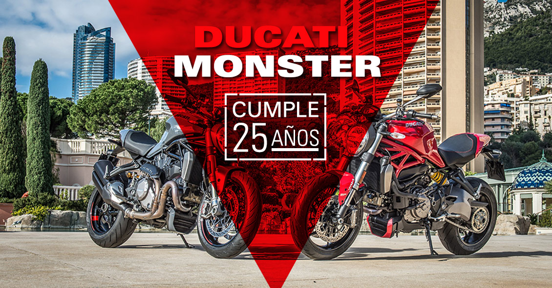 Monster 25 años