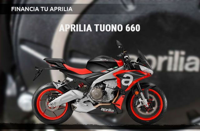 Financiación Aprilia Tuono 660