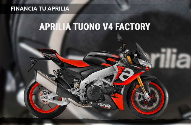 Financiación Aprilia Tuono V4 Factory