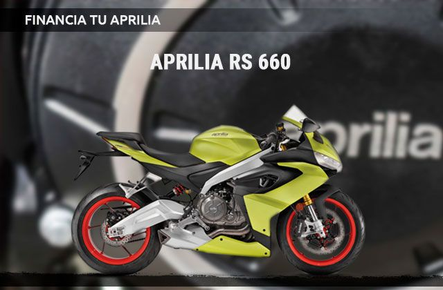 Financiación Aprilia RS 660